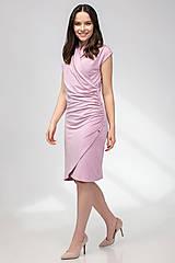 Šaty - ŠATY WRAP (staroružová) - 11687368_