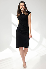 Šaty - ŠATY WRAP - 11687380_