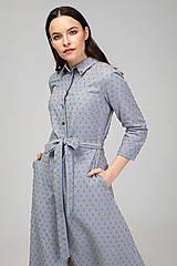 Šaty - KOŠEĽOVÉ ŠATY DAY BY DAY (bledomodré) - 11687412_