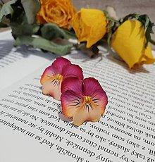 Náušnice - Náušnice sirôtky ružové - 11687482_