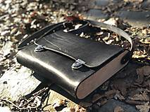 Veľké tašky - AKCIA! Messenger bag - Wooden Life No.86 - 11686347_