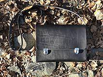 Veľké tašky - AKCIA! Messenger bag - Wooden Life No.86 - 11686348_