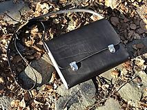 Veľké tašky - AKCIA! Messenger bag - Wooden Life No.86 - 11686349_