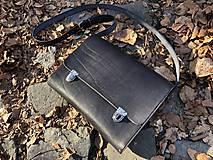 Veľké tašky - AKCIA! Messenger bag - Wooden Life No.86 - 11686350_