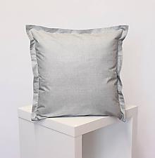 Úžitkový textil - obliečka Sivá režná (3veľkosti) - 11689196_