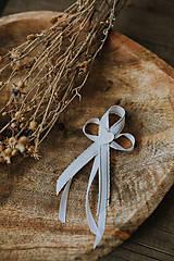 Pierka - Biele romantické pierka - 11689161_