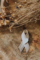 Pierka - Biele romantické pierka - 11689170_