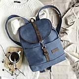 Batohy - Batoh Thea (jeans blue) - 11687873_
