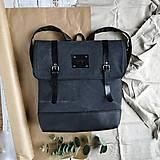 Batohy - Aktovkový batoh Olivia (black) - 11687884_