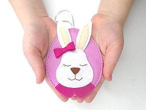 Dekorácie - Veľkonočné vajíčko na peniaze (ružové) - 11688457_