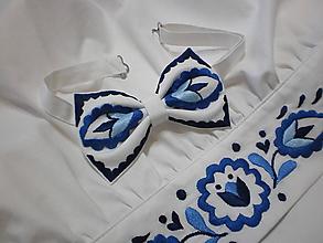 Doplnky - Motýlik Povžie - modrý - 11688652_
