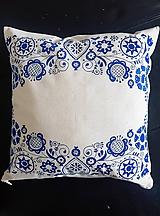 Úžitkový textil - •ručne maľovaný vankúš• - 11688051_