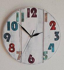 Hodiny - Nástenné hodiny - veselé - 11690718_