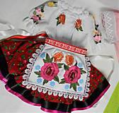 """Detské oblečenie - FLORAL FOLK """" Slovenská ornamentika """" detský folklórny kroj na želanie - 11690910_"""