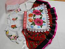 """Detské oblečenie - FLORAL FOLK """" Slovenská ornamentika """" detský folklórny kroj na želanie - 11690918_"""
