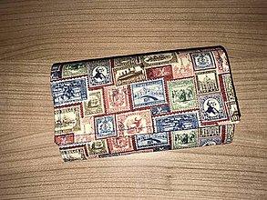 Peňaženky - Peňaženka - poštové známky - 11690853_