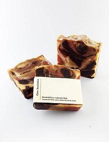 Drogéria - Luxusné mydlo LEVANDUĽA S RUŽOVÝM ÍLOM - 11692191_