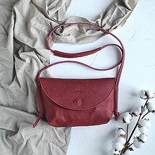 Kabelky - Kabelka Lucretia (červená) - 11691779_