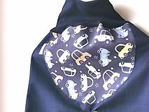 "Detské oblečenie - Softshellky jarné ""veselé autíčka"" - 11692249_"