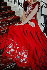Šaty - madeirové šaty Poľana - 11692933_