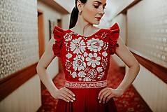 Šaty - madeirové šaty Poľana - 11692939_