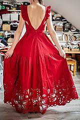 Šaty - madeirové šaty Poľana - 11692950_