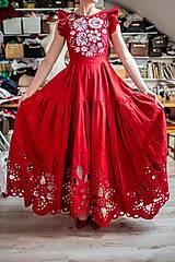 Šaty - madeirové šaty Poľana - 11692951_