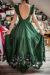 Šaty - madeirové šaty Poľana - 11692952_