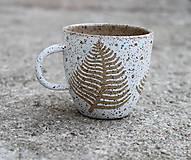 Nádoby - Papraďový biely - 11691536_
