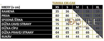 Topy - Tunika CIK-CAK na dojčenie - 11691816_