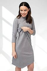 Šaty - Šaty CIK-CAK na dojčenie - 11691904_