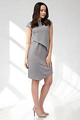 Šaty - Šaty CIK-CAK na dojčenie - krátky rukáv - 11691907_