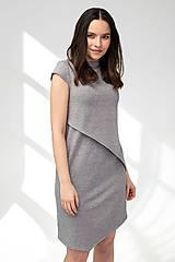 Šaty - Šaty CIK-CAK na dojčenie - krátky rukáv - 11691910_