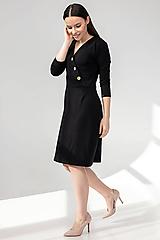 Šaty - Šaty DALIA - čierna - 11691960_