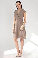 Šaty - Šaty DALIA - béžové - 11691993_