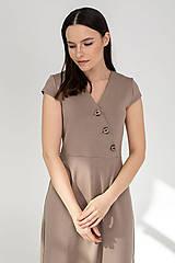 Šaty - Šaty DALIA - béžové - 11691995_