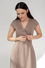 Šaty - Šaty DALIA - béžové - 11691996_