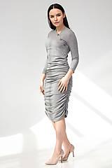 Tehotenské/Na dojčenie - Tehotenské šaty/na dojčenie BUTTON - 11692550_