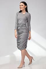 Tehotenské/Na dojčenie - Tehotenské šaty/na dojčenie BUTTON - 11692551_