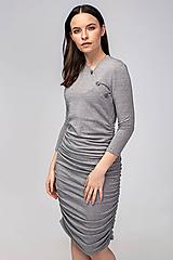 Tehotenské/Na dojčenie - Tehotenské šaty/na dojčenie BUTTON - 11692556_