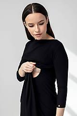 Tehotenské/Na dojčenie - Tehotenské šaty ALICIA /na dojčenie - 11692603_