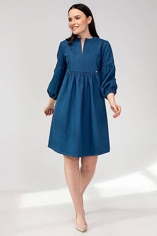 Šaty - Tehotenské šaty VINTAGE - 11692476_