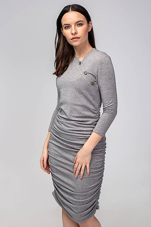 Tehotenské šaty/na dojčenie BUTTON