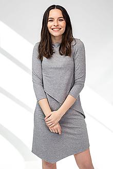 Šaty - Šaty CIK-CAK na dojčenie - 11691900_