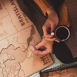 Hračky - Mapuzzle Bratislava - mestské časti - 11692142_