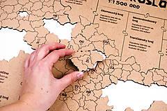 Hračky - Mapuzzle Československo - kraje - 11692164_