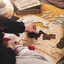 Hračky - Mapuzzle Slovensko - okresy - 11692145_