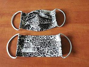 Rúška - Tigrované rúško  - 11692857_