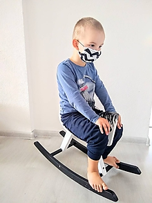Rúška - SKLADOM Rúško detské 4-6 rokov - 11695225_