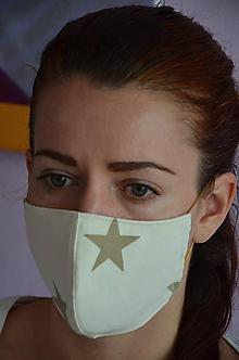 Rúška - Rúško na tvár (kvalitná, hrubo na-tkaná) - 11694758_